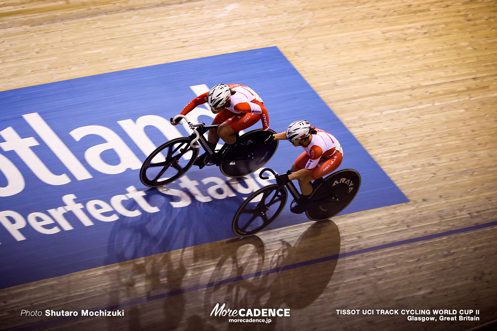 Women's Madison / TISSOT UCI TRACK CYCLING WORLD CUP II, Glasgow, Great Britain