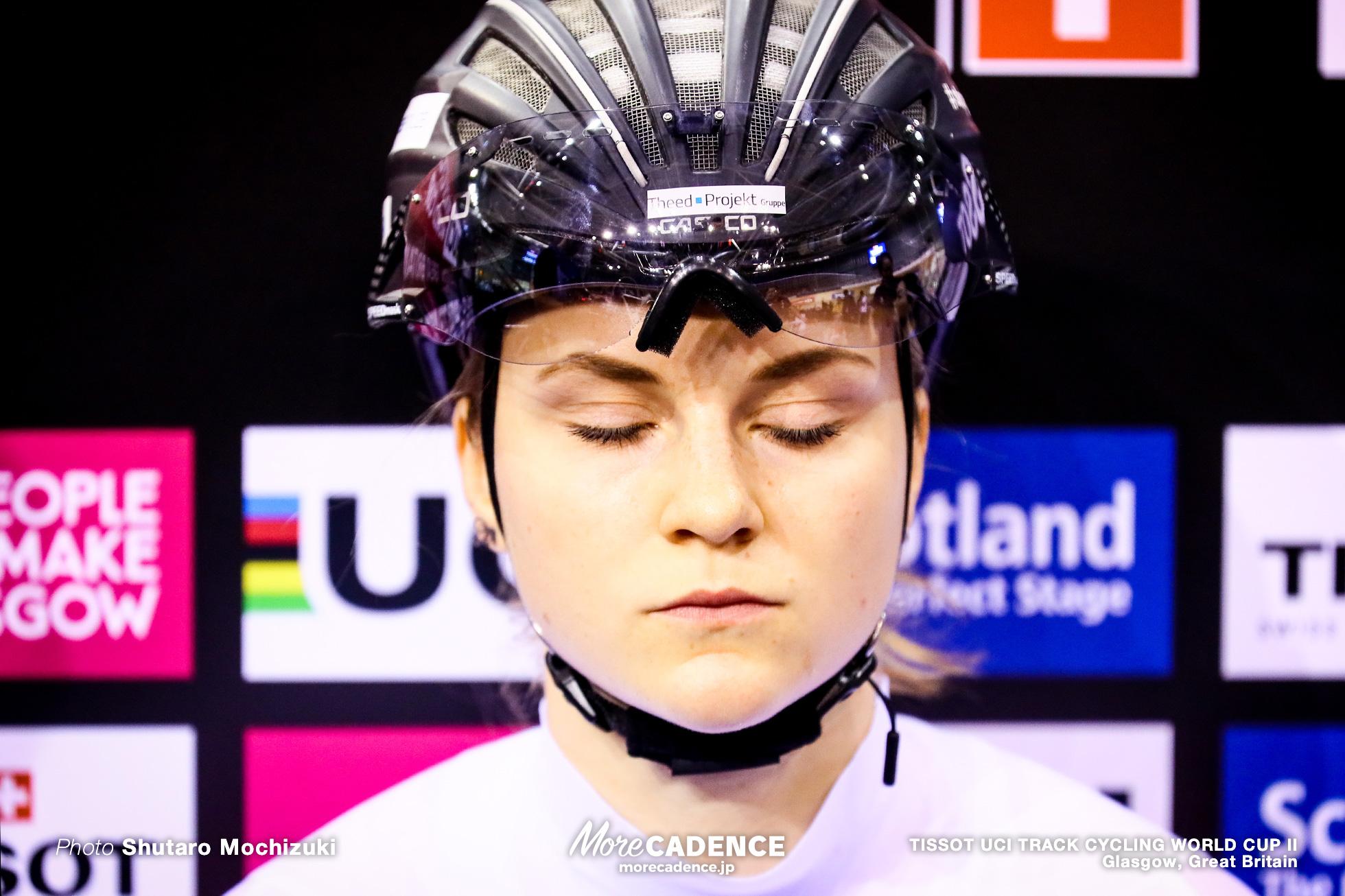 Final / Women's Sprint / TISSOT UCI TRACK CYCLING WORLD CUP II, Glasgow, Great Britain, FRIEDRICH Lea Sophie リー・ソフィー・フリードリッヒ