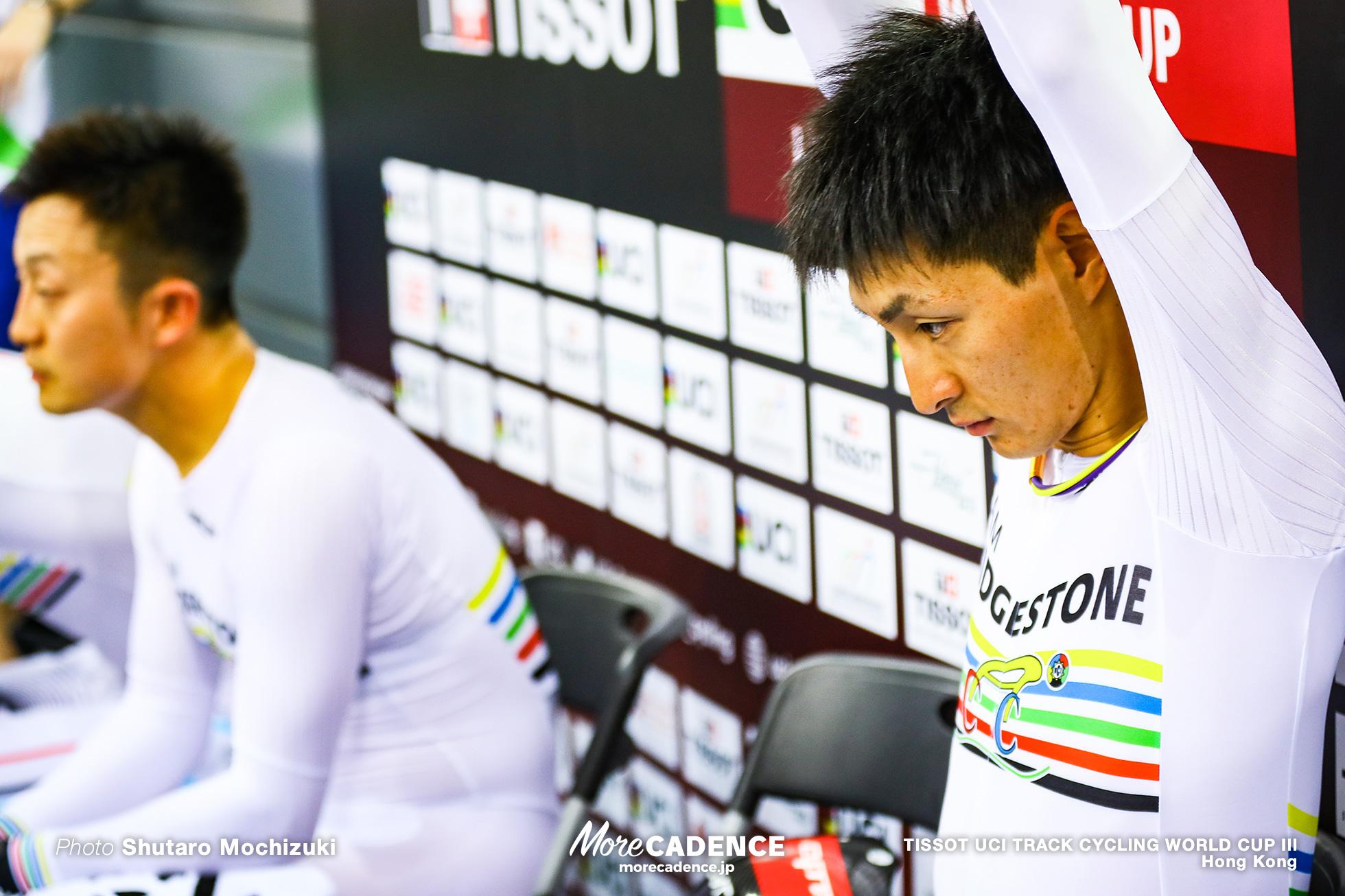 Men's Team Pursuit / TISSOT UCI TRACK CYCLING WORLD CUP III, Hong Kong, 近谷涼