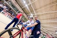 エミリー・ネルソン NELSON Emily Women's Madison / TISSOT UCI TRACK CYCLING WORLD CUP I, Minsk, Beralus