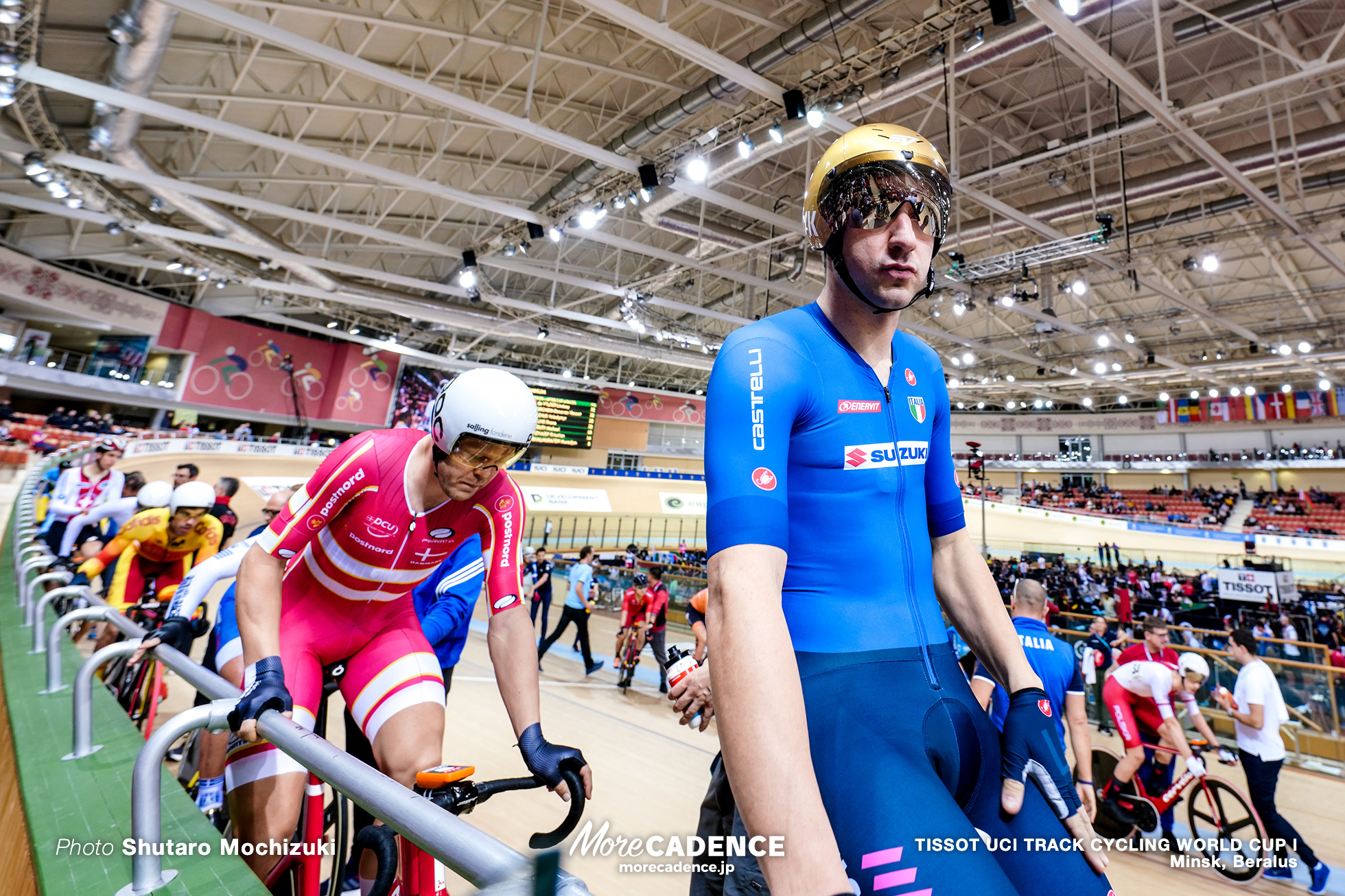 Point Race / Men's Omnium / TISSOT UCI TRACK CYCLING WORLD CUP I, Minsk, Beralus