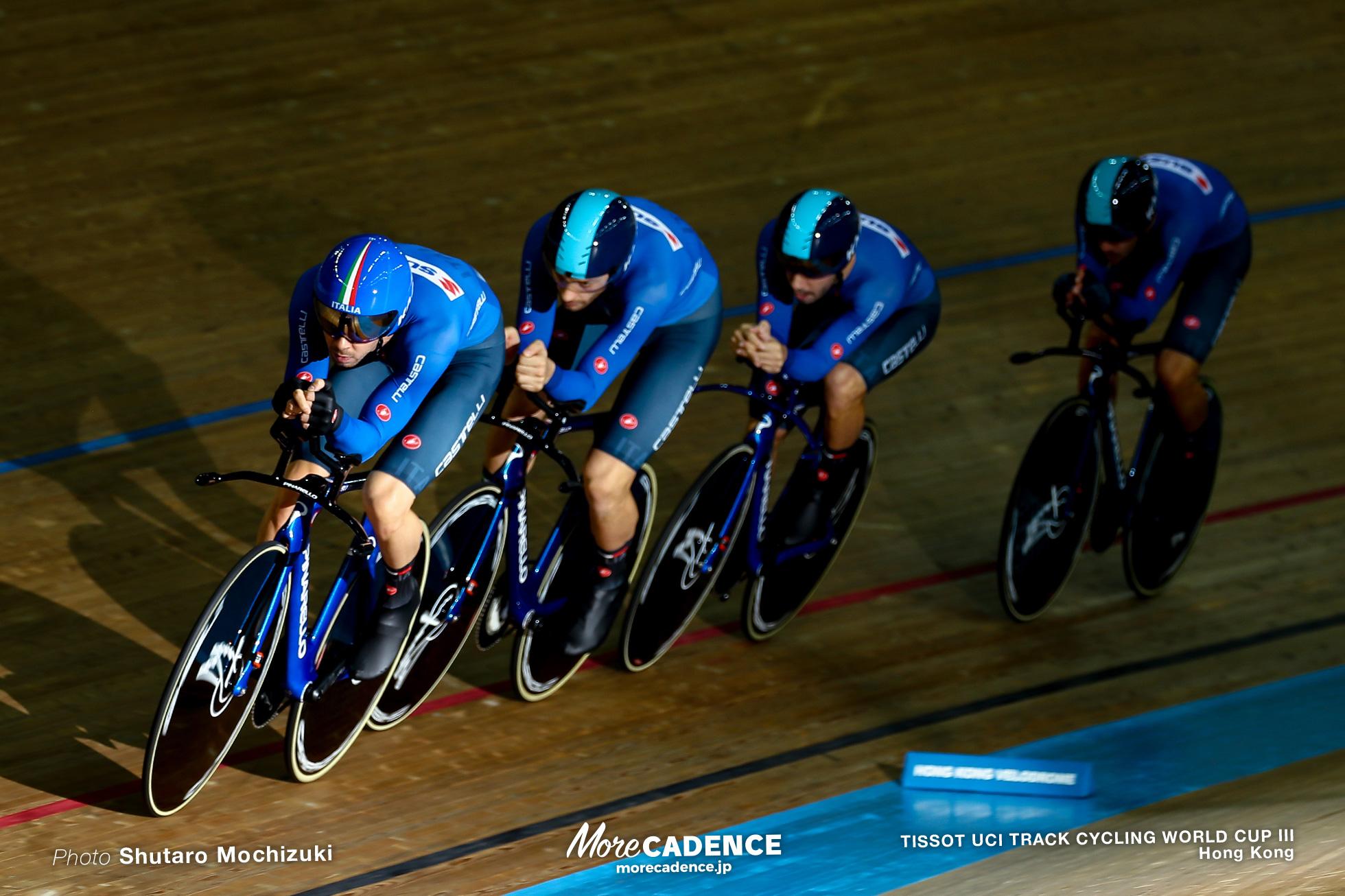 Final / Men's Team Pursuit / TISSOT UCI TRACK CYCLING WORLD CUP III, Hong Kong, Francesco LAMON フランチェスコ・ラモーン Carloalberto GIORDANI カルロベルト・ジョルダーニ Davide PLEBANI ダヴィデ・プレバーニ Michele SCARTEZZINI ミケーレ・スカレテッティーニ