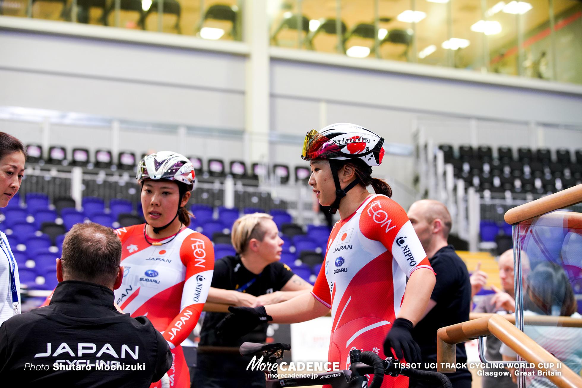 中村妃智 梶原悠未 TISSOT UCI TRACK CYCLING WORLD CUP II, Glasgow, Great Britain