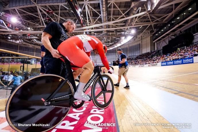 深谷知広 Final / Men's Sprint / TISSOT UCI TRACK CYCLING WORLD CUP II, Glasgow, Great Britain