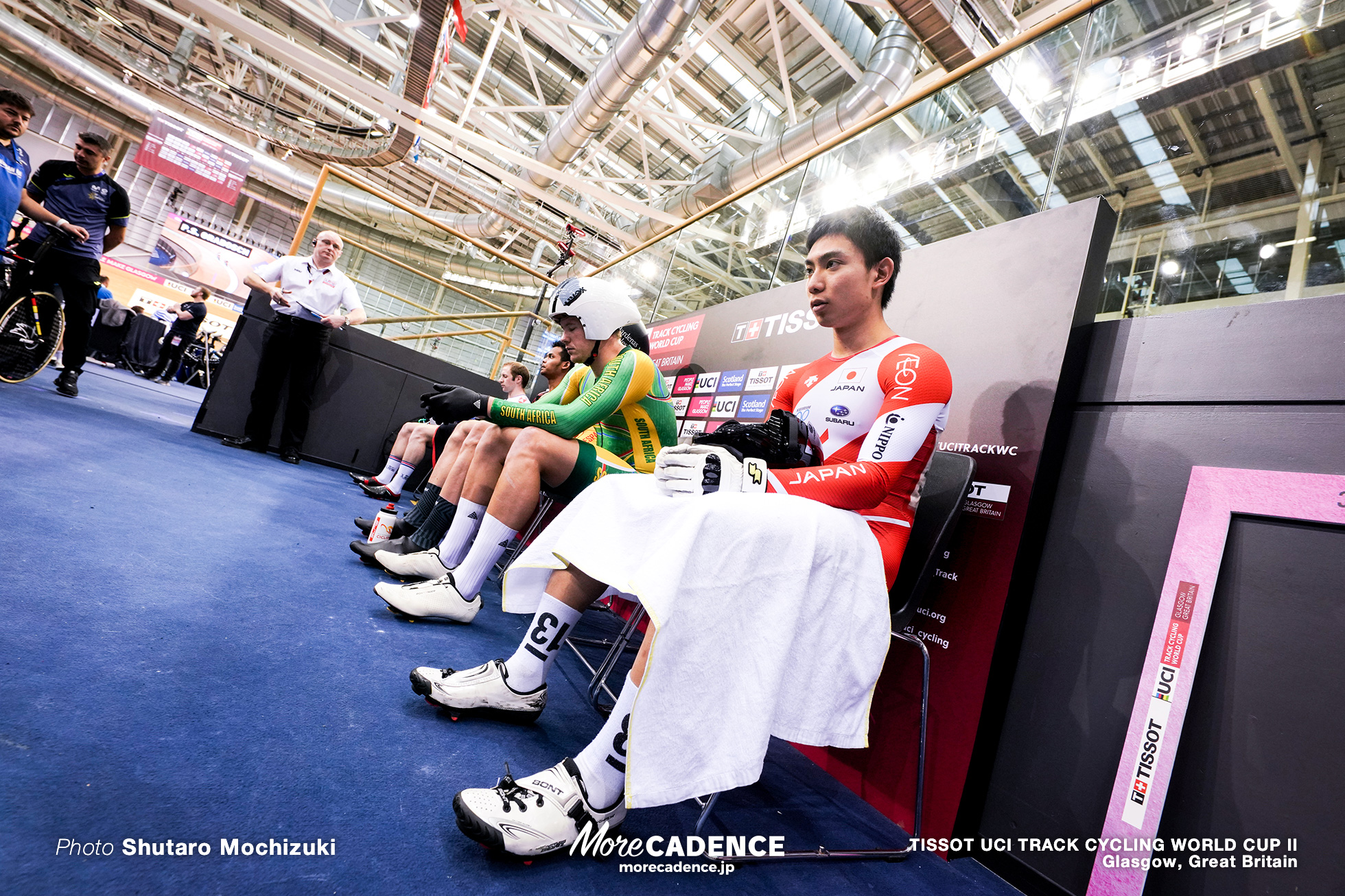 Repechage / Men's Keirin / TISSOT UCI TRACK CYCLING WORLD CUP II, Glasgow, Great Britain, 小原佑太