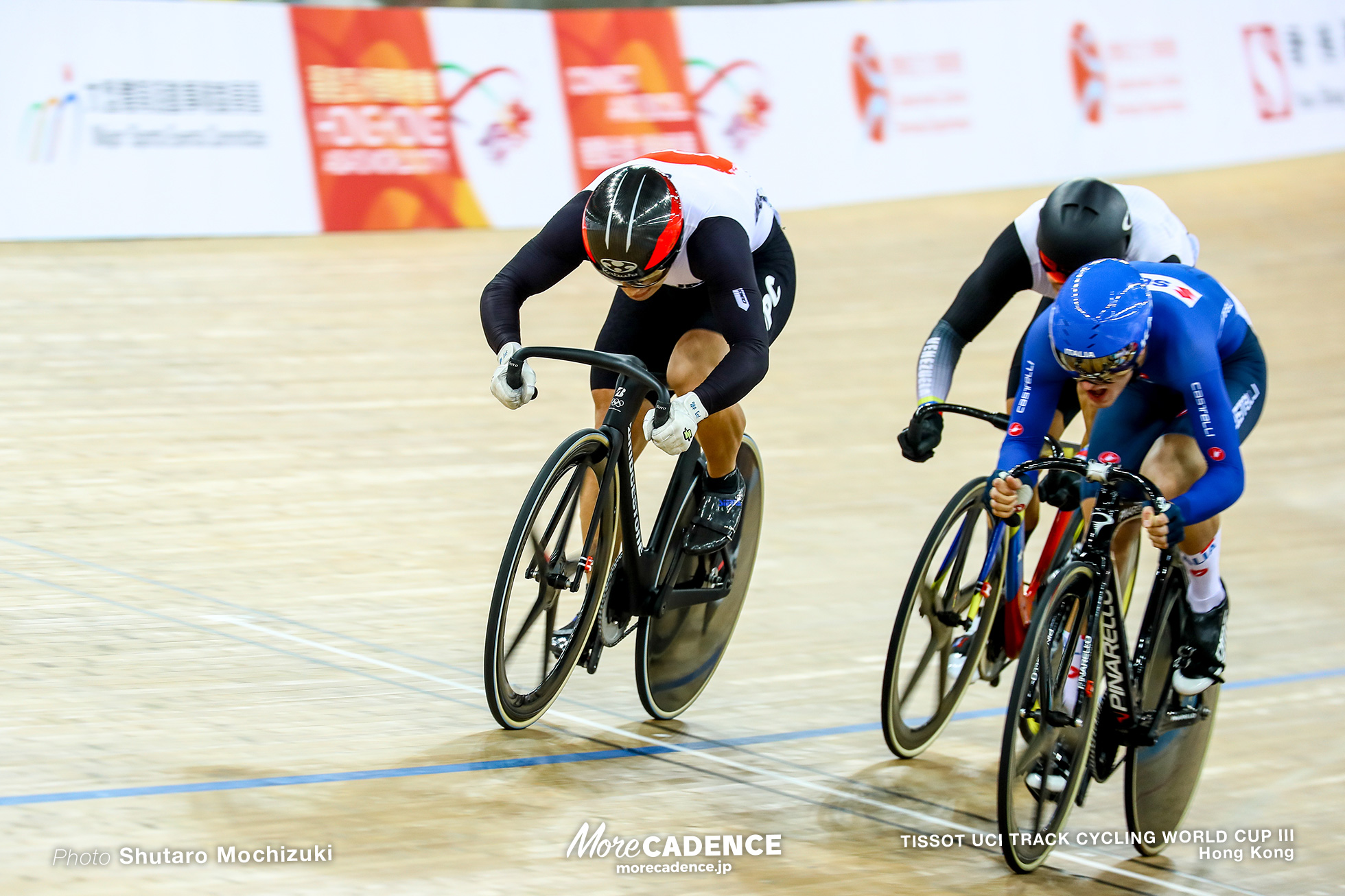 1st Round Repechage / Men's Keirin / TISSOT UCI TRACK CYCLING WORLD CUP III, Hong Kong