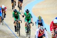 Women's Madison / TISSOT UCI TRACK CYCLING WORLD CUP III, Hong Kong, Lydia GURLEY リディア・ガーリー Lydia BOYLAN リディア・ボイラン