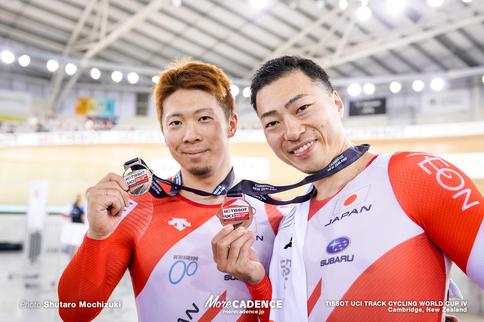 Final / Men's Sprint / TISSOT UCI TRACK CYCLING WORLD CUP IV, Cambridge, New Zealand, 深谷知広 新田祐大