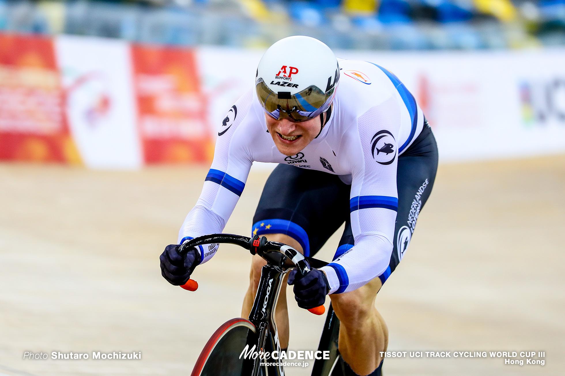 Jeffery Hoogland, Qualifying / Men's Sprint / TISSOT UCI TRACK CYCLING WORLD CUP III, Hong Kong