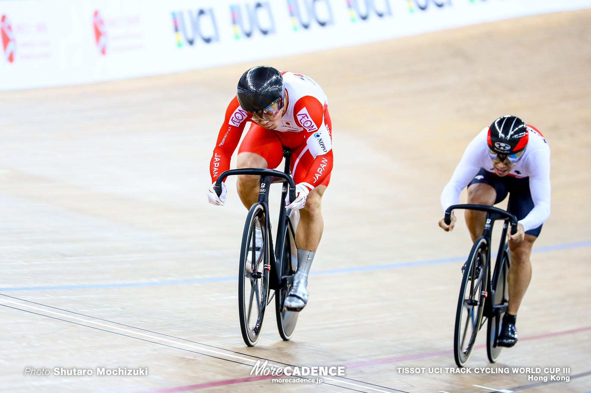 Quarter Finals / Men's Sprint / TISSOT UCI TRACK CYCLING WORLD CUP III, Hong Kong