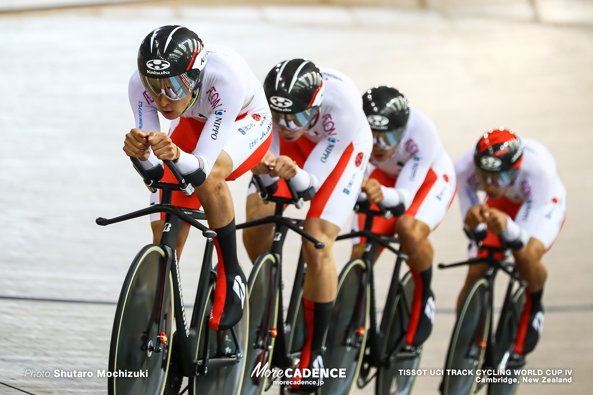 Men's Team Pursuit / TISSOT UCI TRACK CYCLING WORLD CUP IV, Cambridge, New Zealand