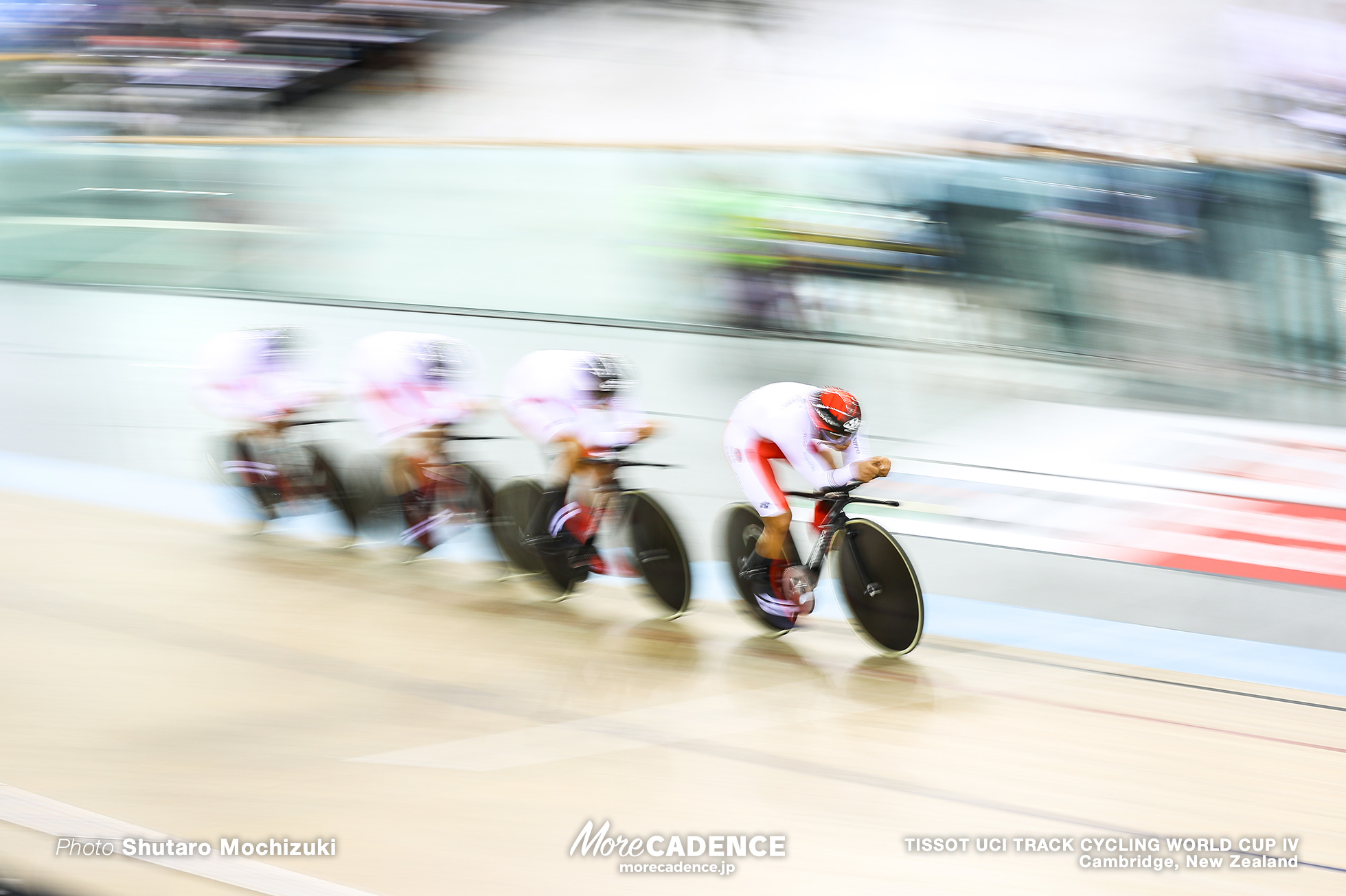 Qualifying / Men's Team Pursuit / TISSOT UCI TRACK CYCLING WORLD CUP IV, Cambridge, New Zealand