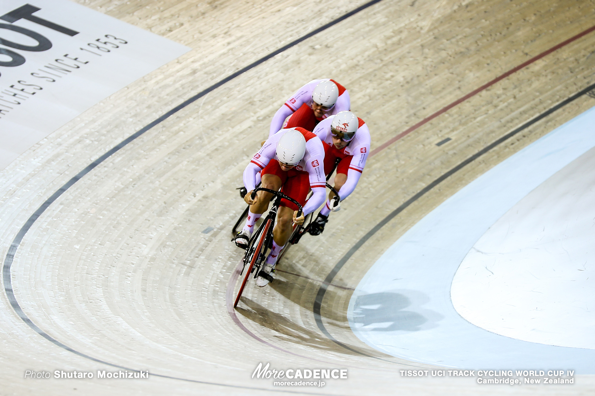 Qualifying / Men's Team Sprint / TISSOT UCI TRACK CYCLING WORLD CUP IV, Cambridge, New Zealand