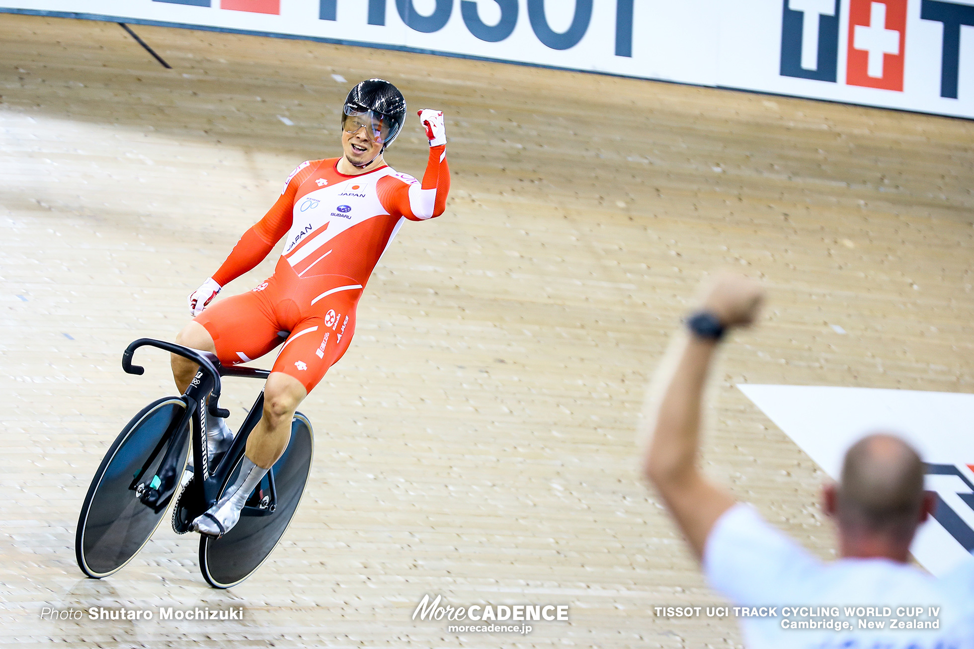 Final / Men's Team Sprint / TISSOT UCI TRACK CYCLING WORLD CUP IV, Cambridge, New Zealand, 深谷知広
