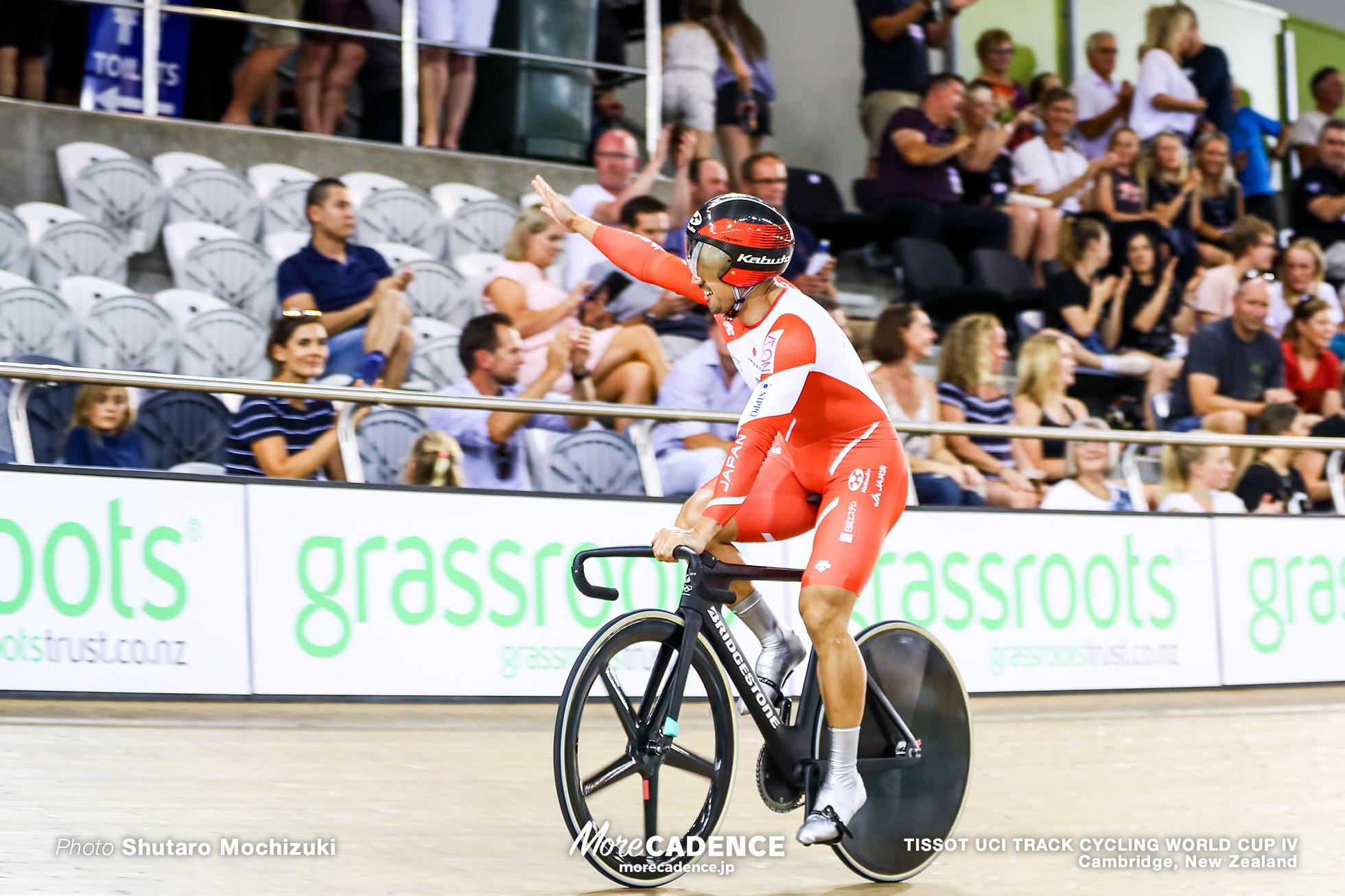 Final / Men's Team Sprint / TISSOT UCI TRACK CYCLING WORLD CUP IV, Cambridge, New Zealand, 雨谷一樹