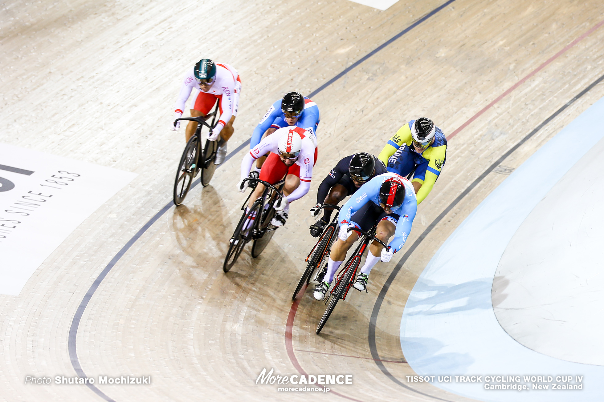 1st Round / Men's Keirin / TISSOT UCI TRACK CYCLING WORLD CUP IV, Cambridge, New Zealand