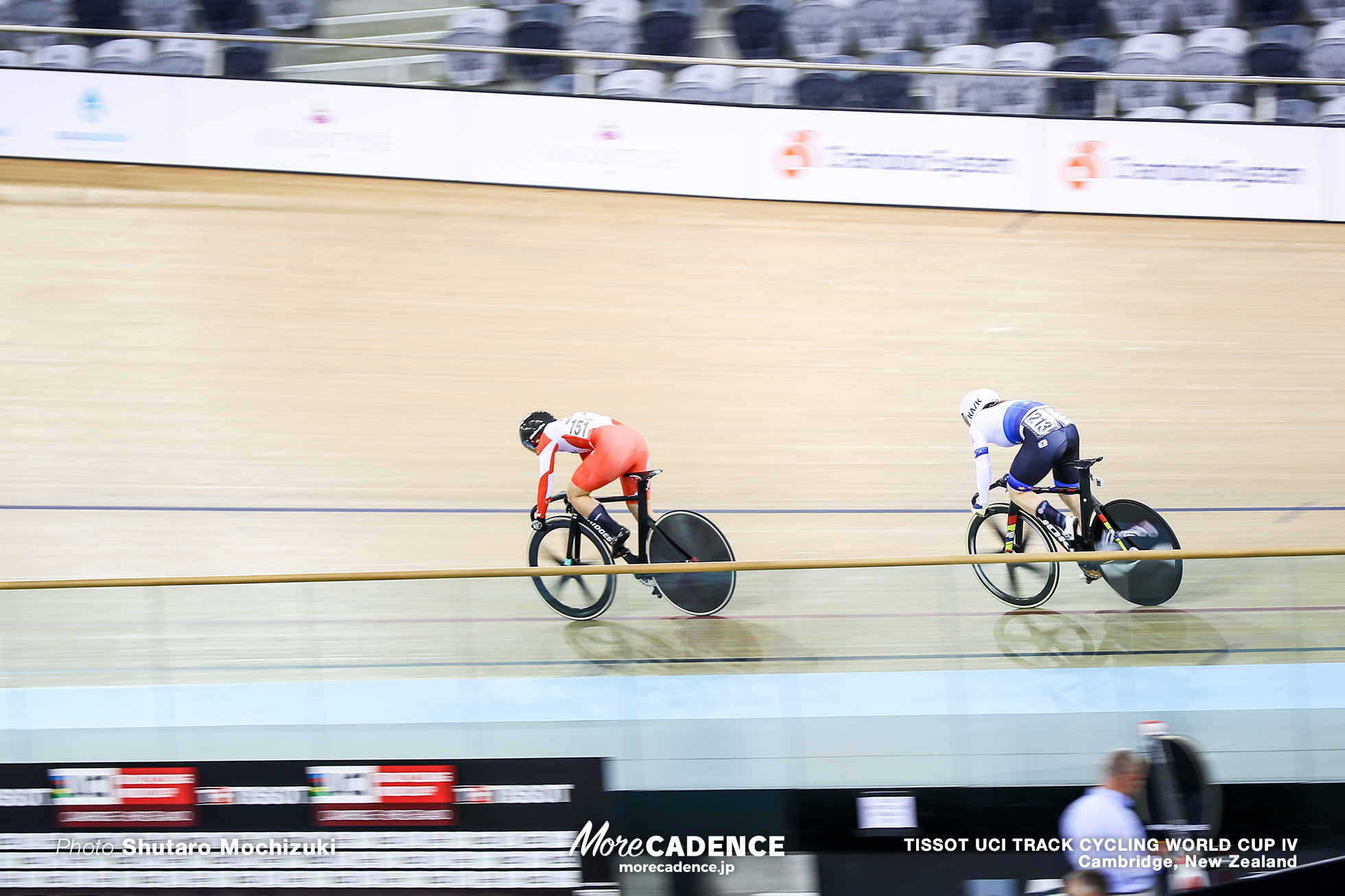 1/8 Finals / Women's Sprint / TISSOT UCI TRACK CYCLING WORLD CUP IV, Cambridge, New Zealand