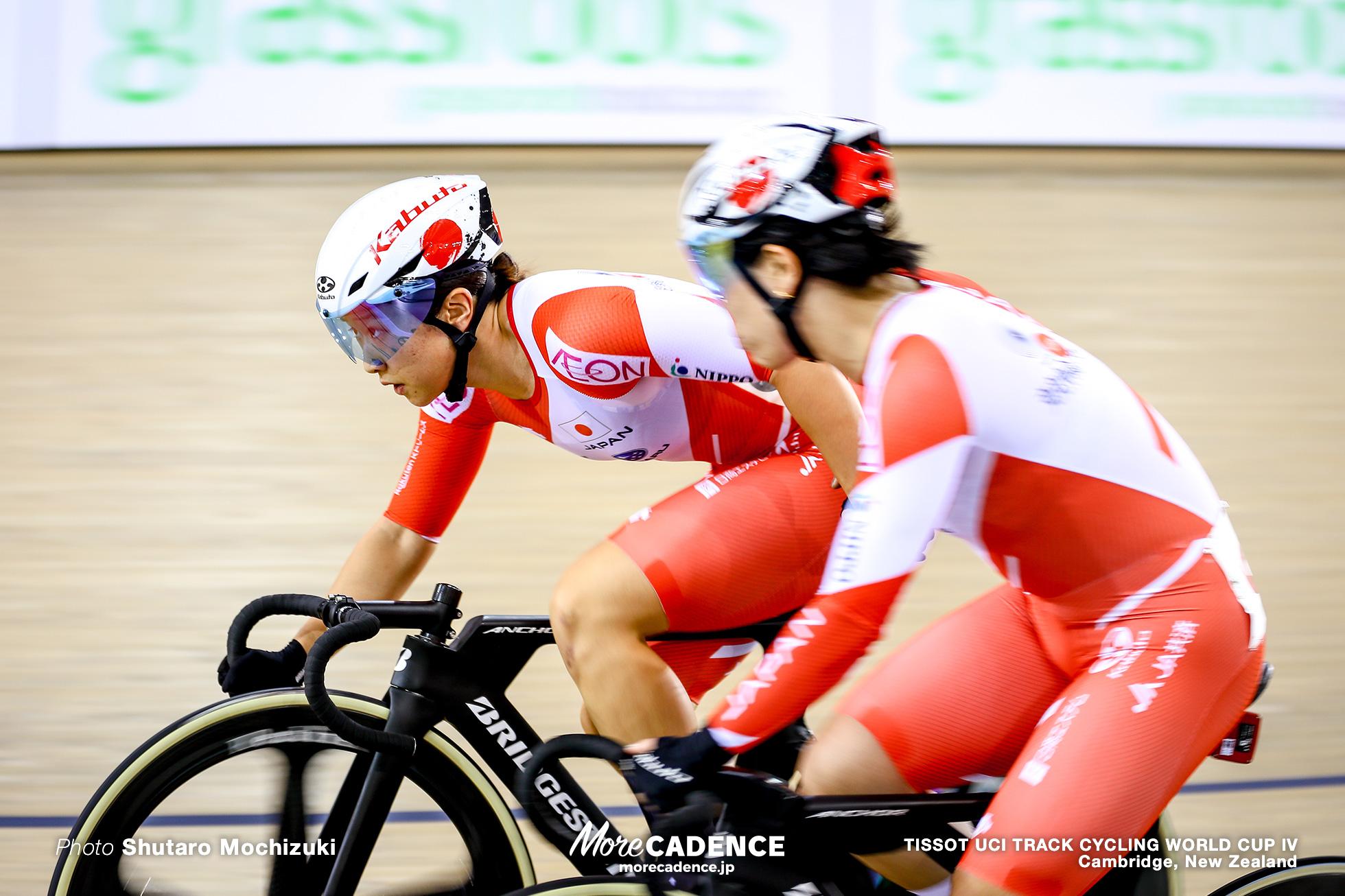 Women's Madison / TISSOT UCI TRACK CYCLING WORLD CUP IV, Cambridge, New Zealand