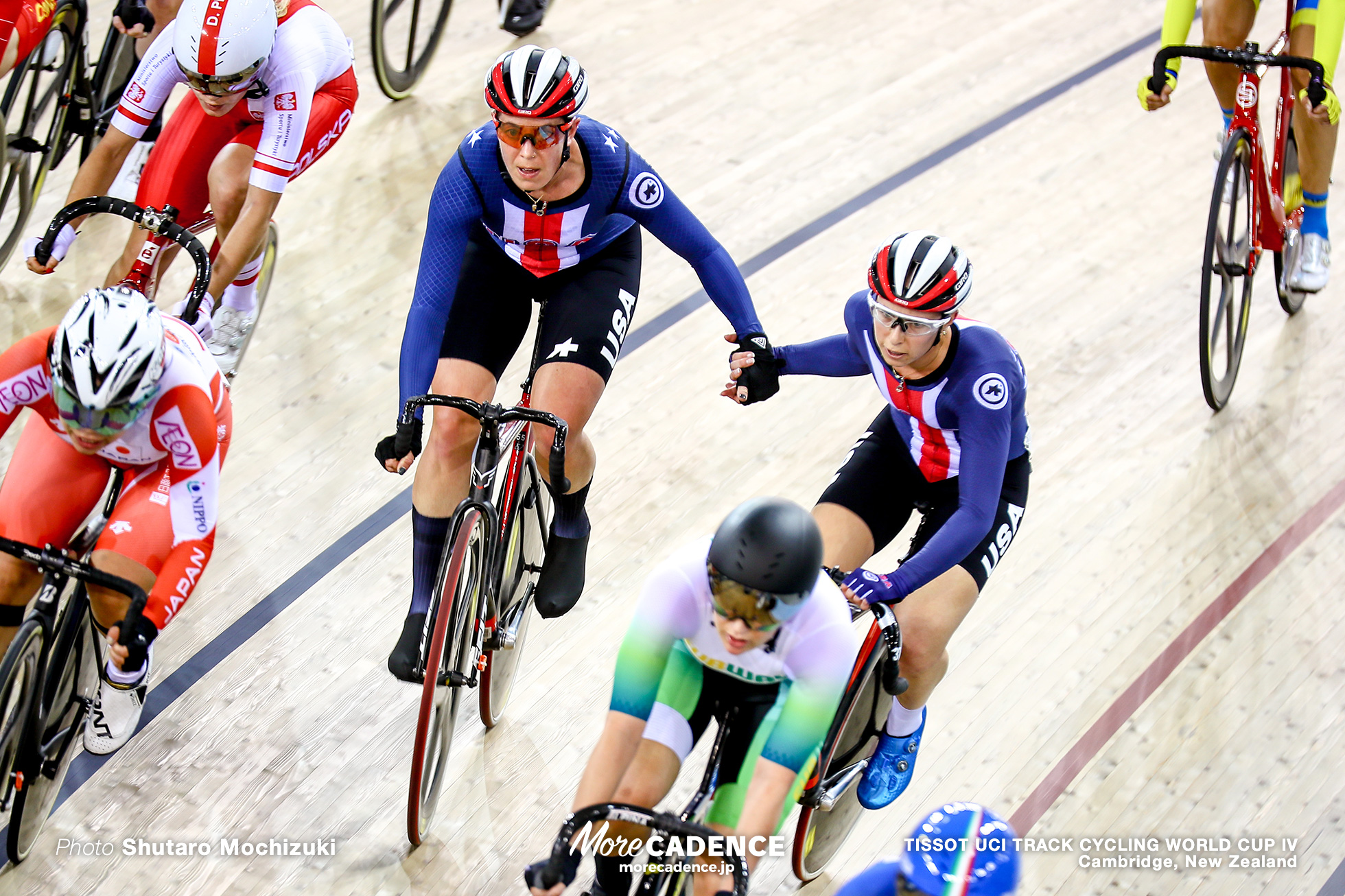 Women's Madison / TISSOT UCI TRACK CYCLING WORLD CUP IV, Cambridge, New Zealand