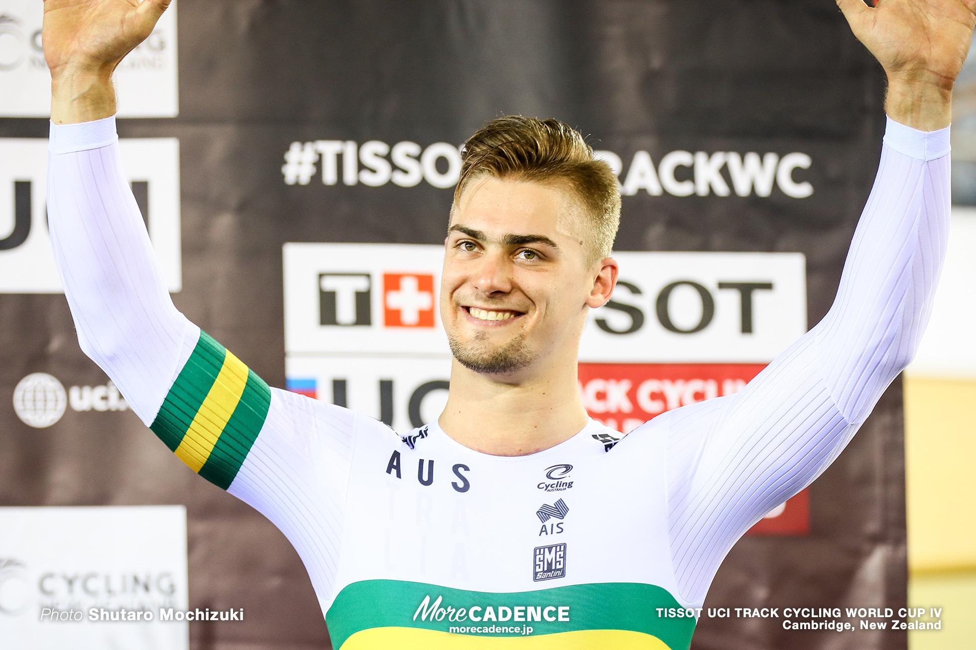 Final / Men's Keirin / TISSOT UCI TRACK CYCLING WORLD CUP IV, Cambridge, New Zealand, Matthew GLAETZER マシュー・グレーツァー