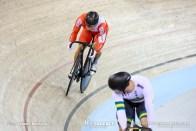 Semi Finals / Men's Sprint / TISSOT UCI TRACK CYCLING WORLD CUP IV, Cambridge, New Zealand, 深谷知広 Nathan Hart ネイサン・ハート