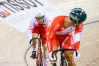 Semi Finals / Men's Sprint / TISSOT UCI TRACK CYCLING WORLD CUP IV, Cambridge, New Zealand, 新田祐大 Mateusz Rudyk マテウス・ルディク