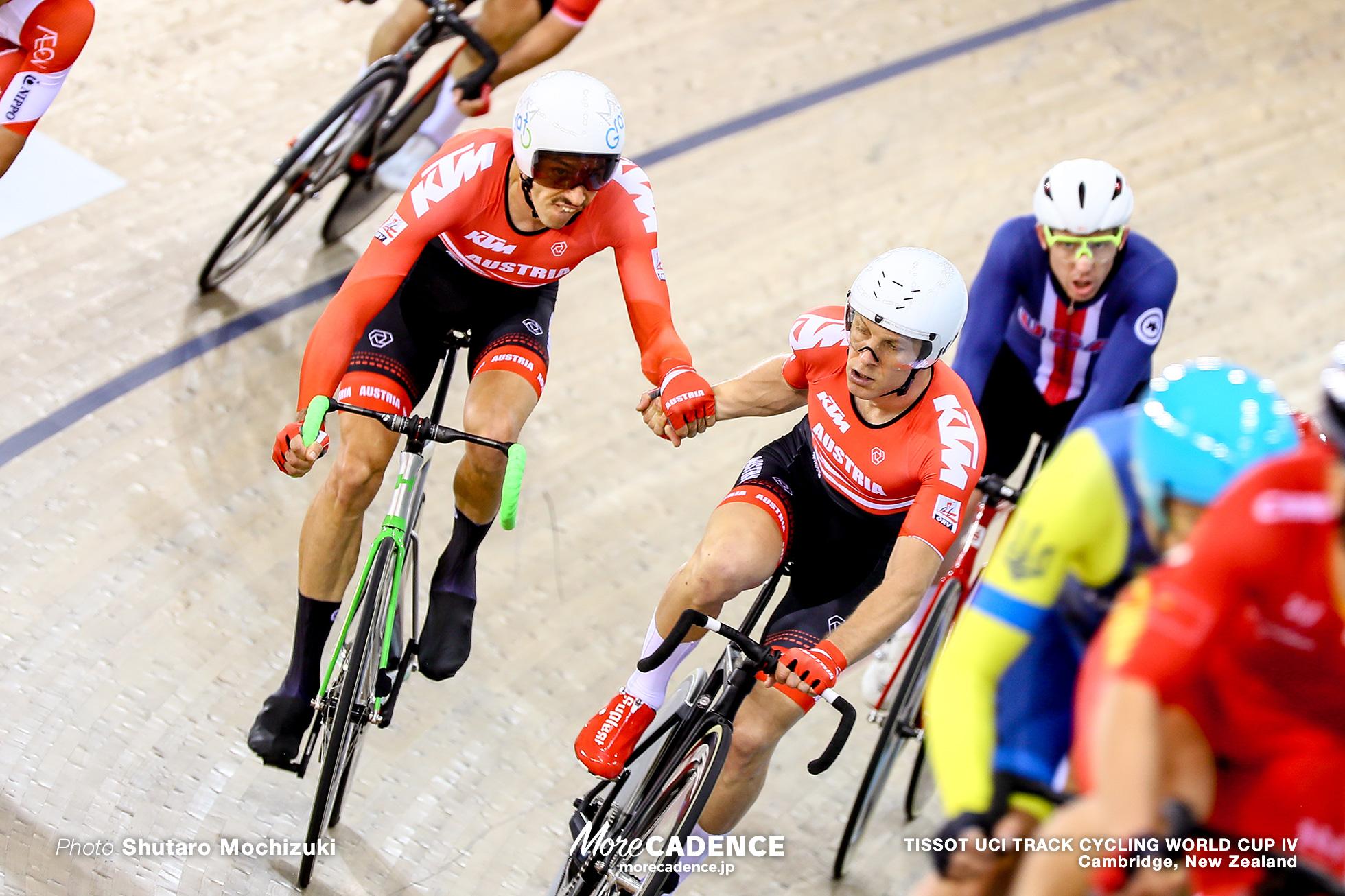 Men's Madison / TISSOT UCI TRACK CYCLING WORLD CUP IV, Cambridge, New Zealand