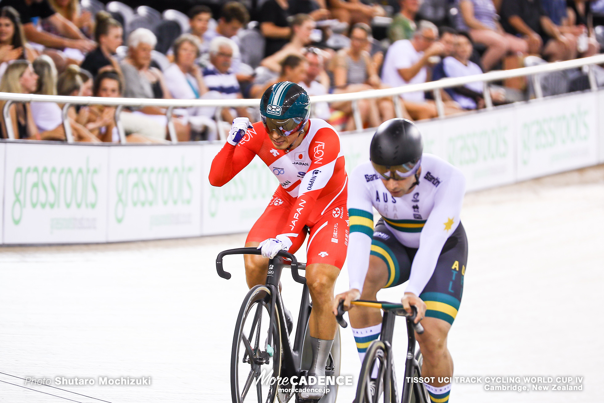 Final / Men's Sprint / TISSOT UCI TRACK CYCLING WORLD CUP IV, Cambridge, New Zealand, 新田祐大 Nathan Hart ネイサン・ハート