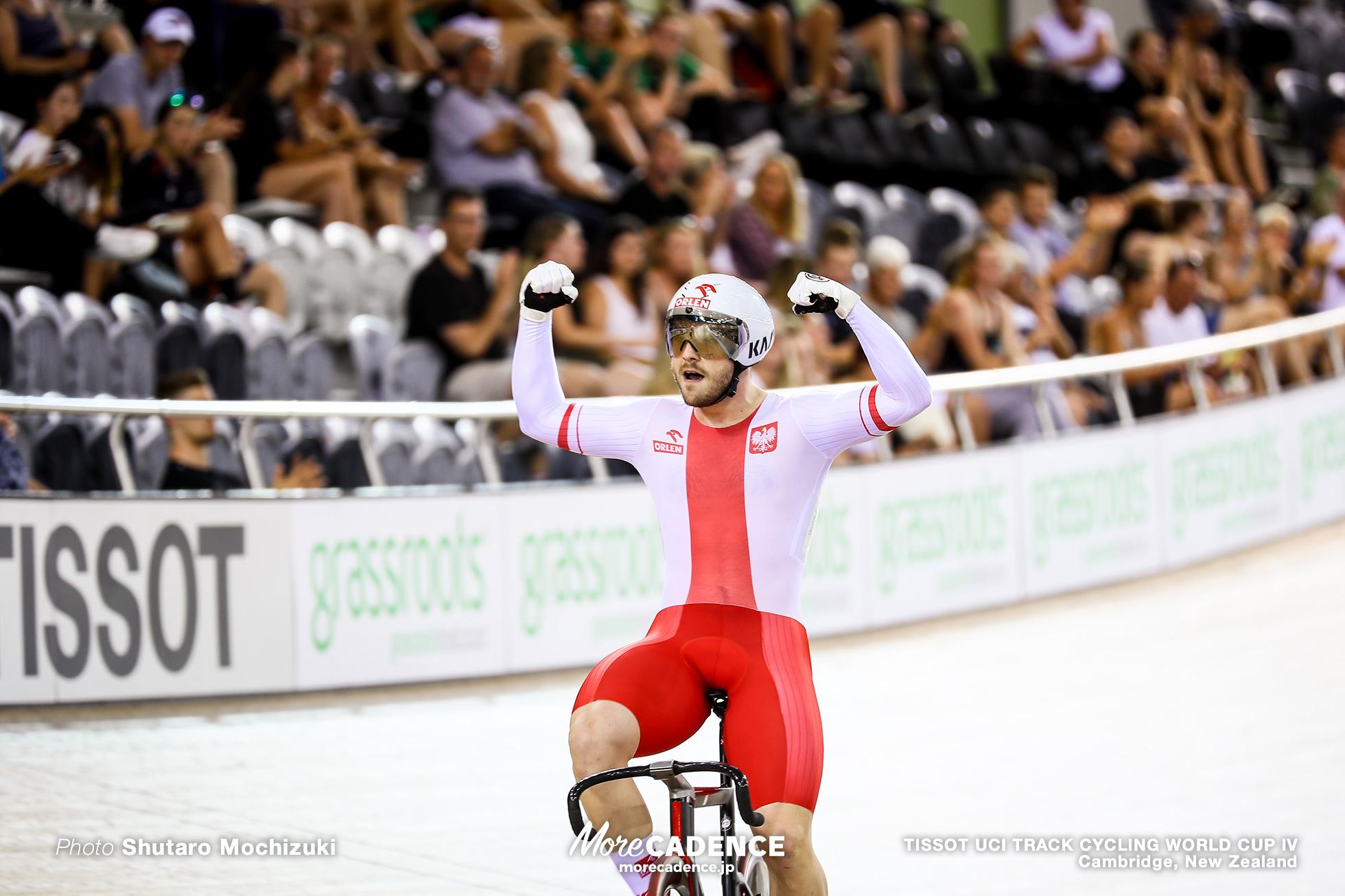 Final / Men's Sprint / TISSOT UCI TRACK CYCLING WORLD CUP IV, Cambridge, New Zealand, Mateusz Rudyk マテウス・ルディク