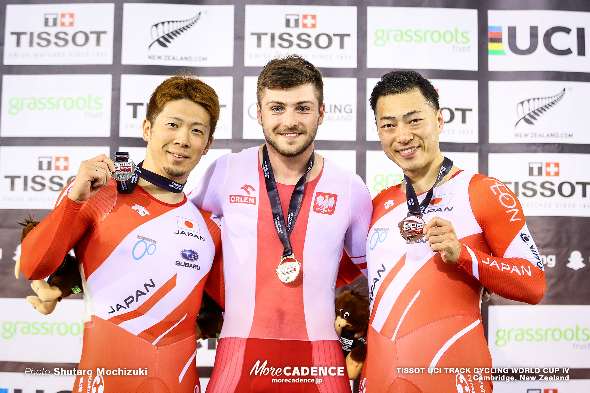 Final / Men's Sprint / TISSOT UCI TRACK CYCLING WORLD CUP IV, Cambridge, New Zealand, Mateusz Rudyk マテウス・ルディク 深谷知広 新田祐大