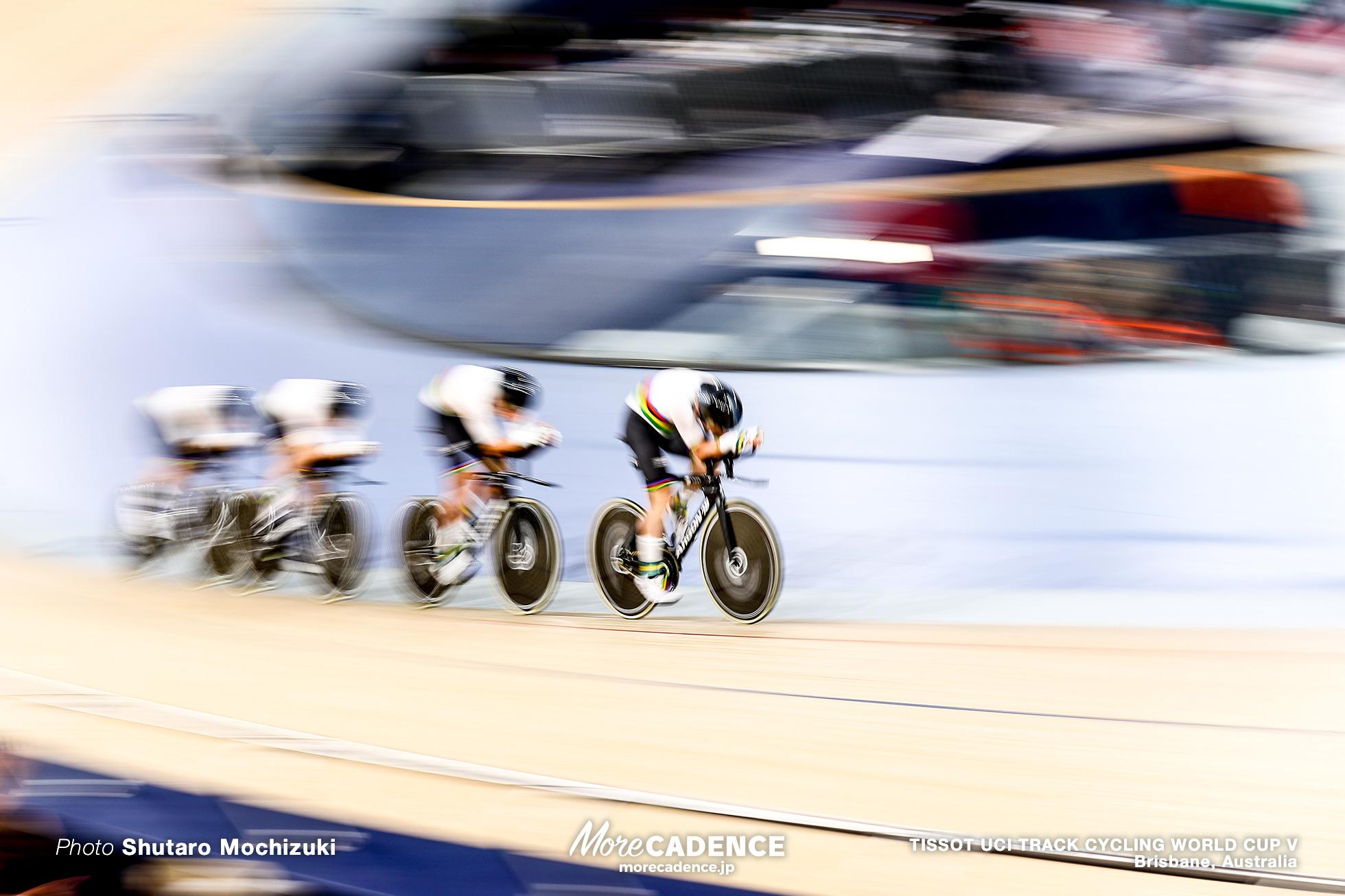 Final / Men's Team Pursuit / TISSOT UCI TRACK CYCLING WORLD CUP V, Brisbane, Australia