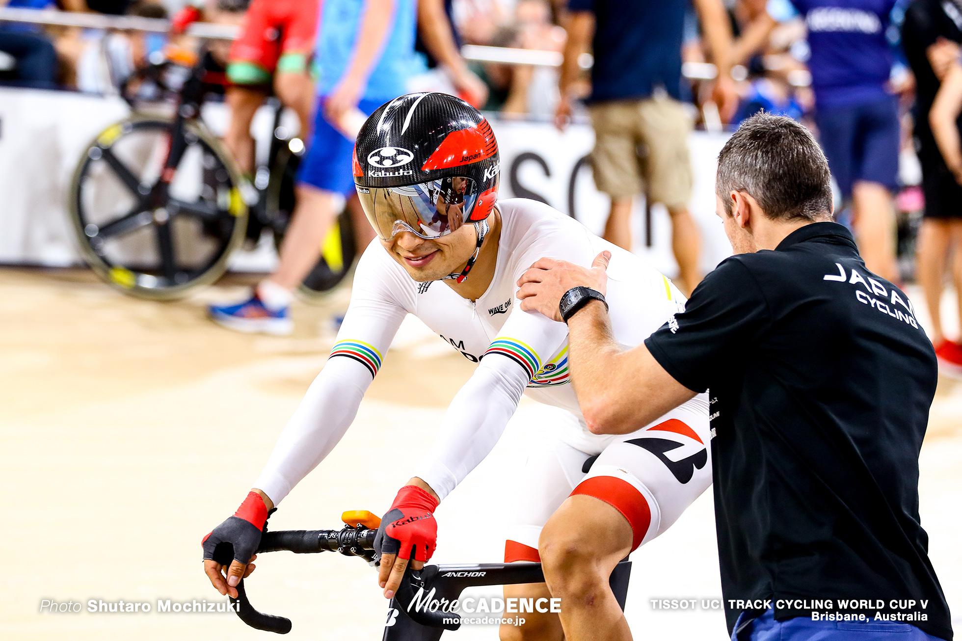 Men's Omnium / Elimination / TISSOT UCI TRACK CYCLING WORLD CUP V, Brisbane, Australia, 橋本英也
