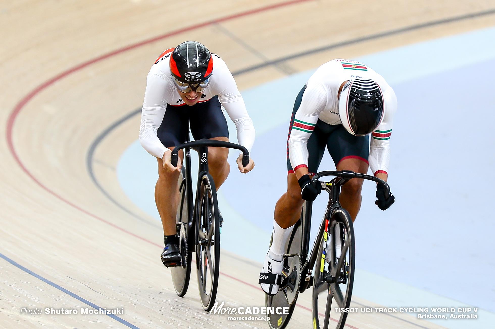 2nd Round / Men's Sprint / TISSOT UCI TRACK CYCLING WORLD CUP V, Brisbane, Australia
