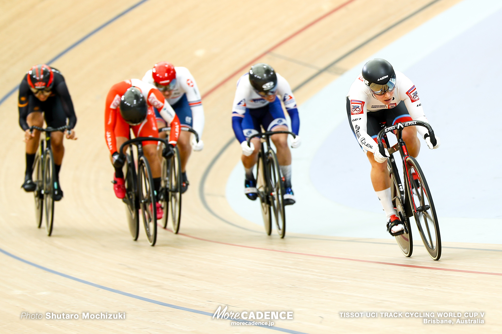 Repechage / Women's Keirin / TISSOT UCI TRACK CYCLING WORLD CUP V, Brisbane, Australia