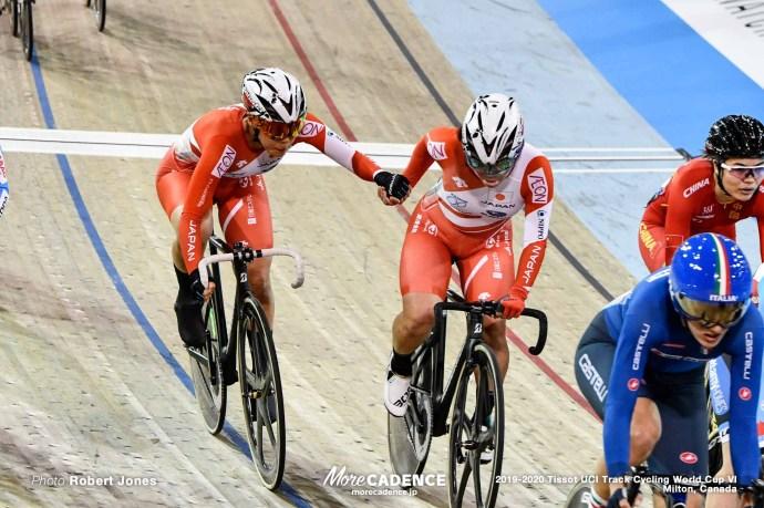 Women's Madison / TISSOT UCI TRACK CYCLING WORLD CUP VI, Milton, Canada, 古山稀絵, 中村妃智
