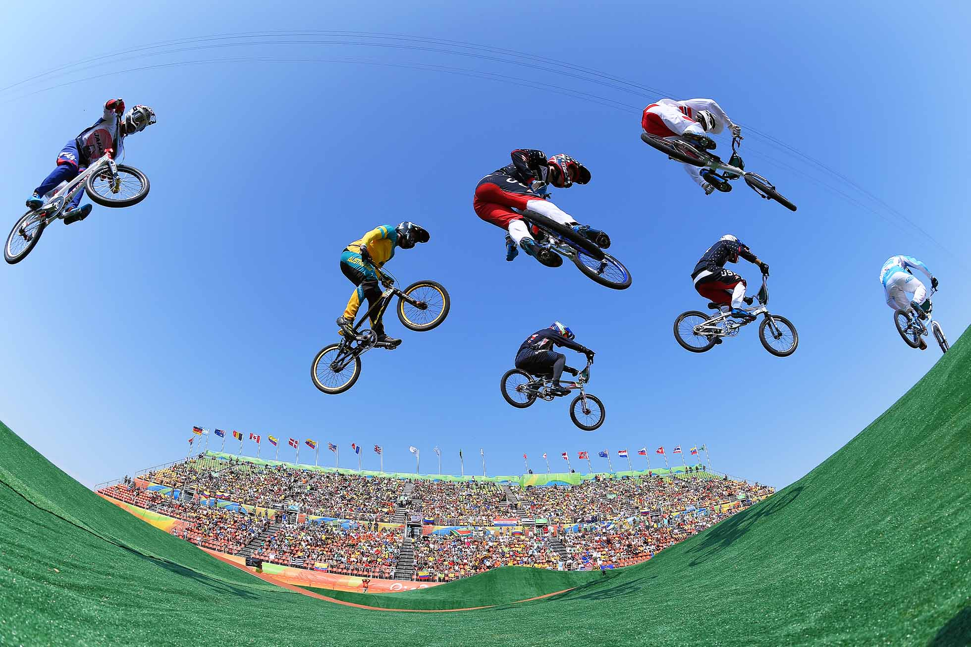 Cycling: 31st Rio 2016 Olympics / BMX Cycling: Men Quarterfinals