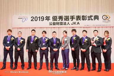 ナショナルチーム8人が国際賞、佐藤慎太郎と児玉碧衣が最優秀選手賞/令和元年優秀選手表彰式