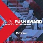 コーチ陣の世界選手権、No.1プッシュを決める『PUSH AWARD 2019-2020』開催