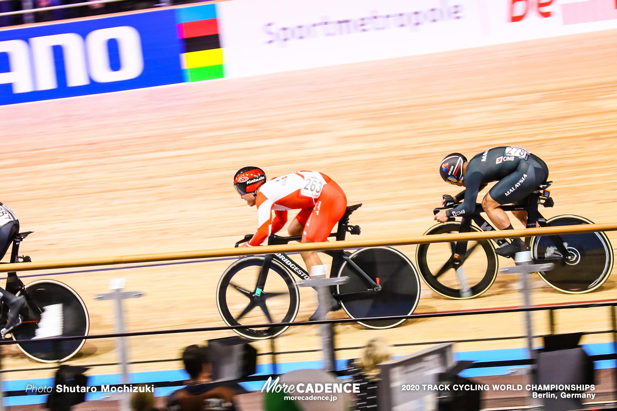 Final / Men's Keirin / 2020 Track Cycling World Championships, 脇本雄太 Wakimoto Yuta アジズルハスニ・アワン Mohd Azizulhasni Awang