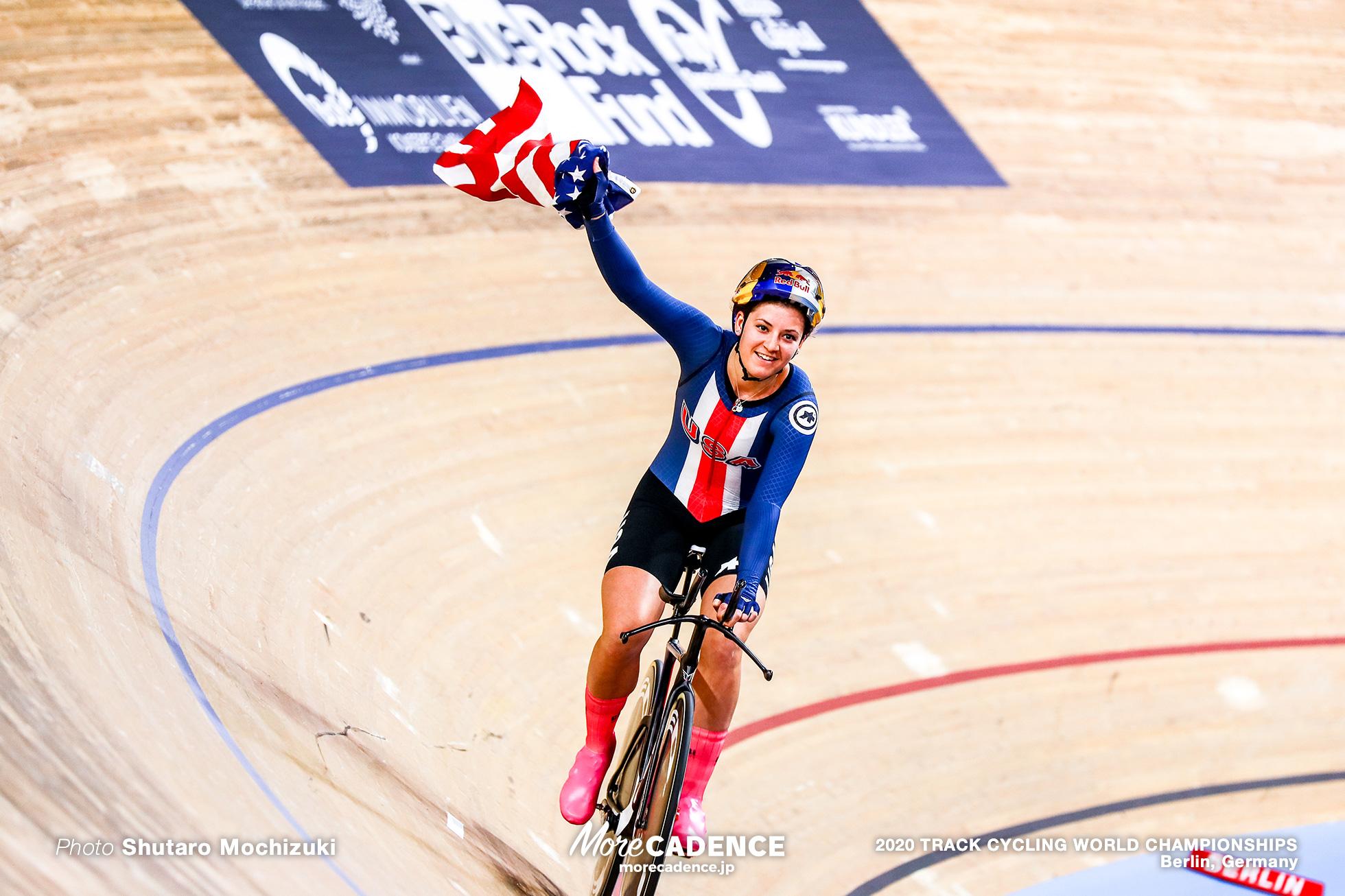 Final / Women's Team Pursuit / 2020 Track Cycling World Championships , Jennifer Valente ジェニファー・バレンテ