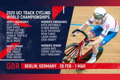 イギリスからは五輪メダリストと元世界王者らの精鋭が集結/トラック世界選手権2020出場選手