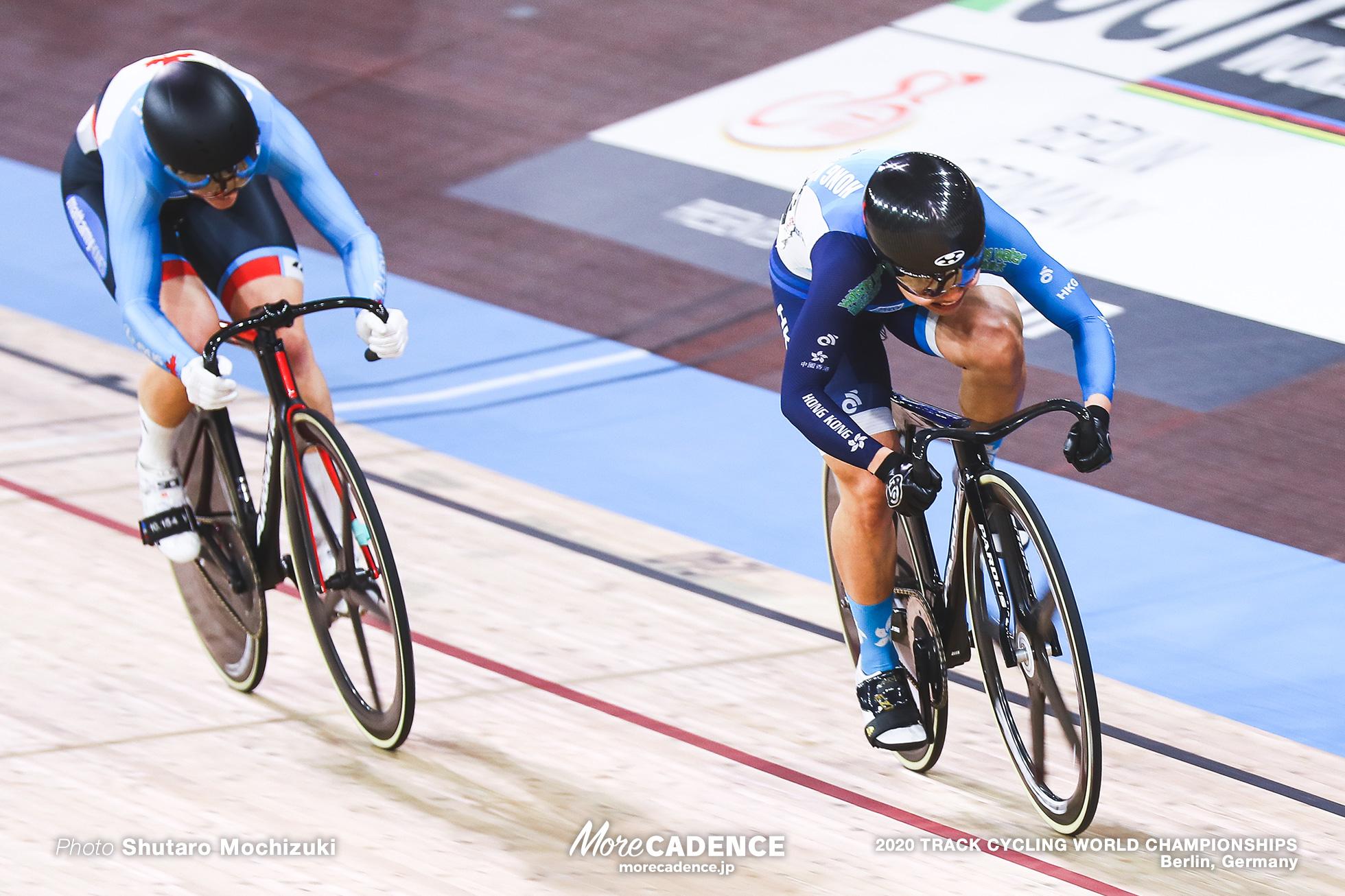 Final / Women's Sprint / 2020 Track Cycling World Championships