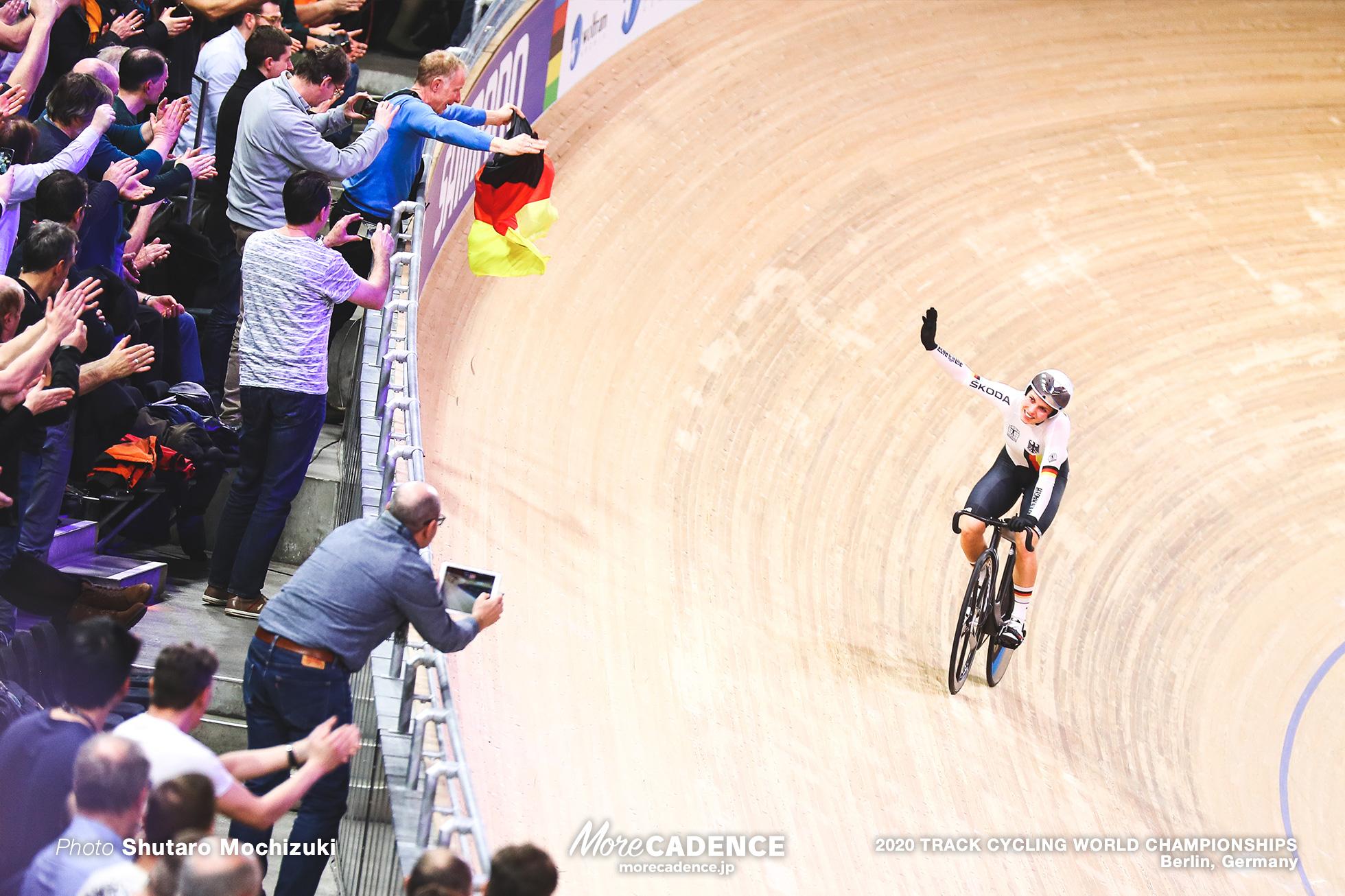 Emma Hinze, Final / Women's Sprint / 2020 Track Cycling World Championships