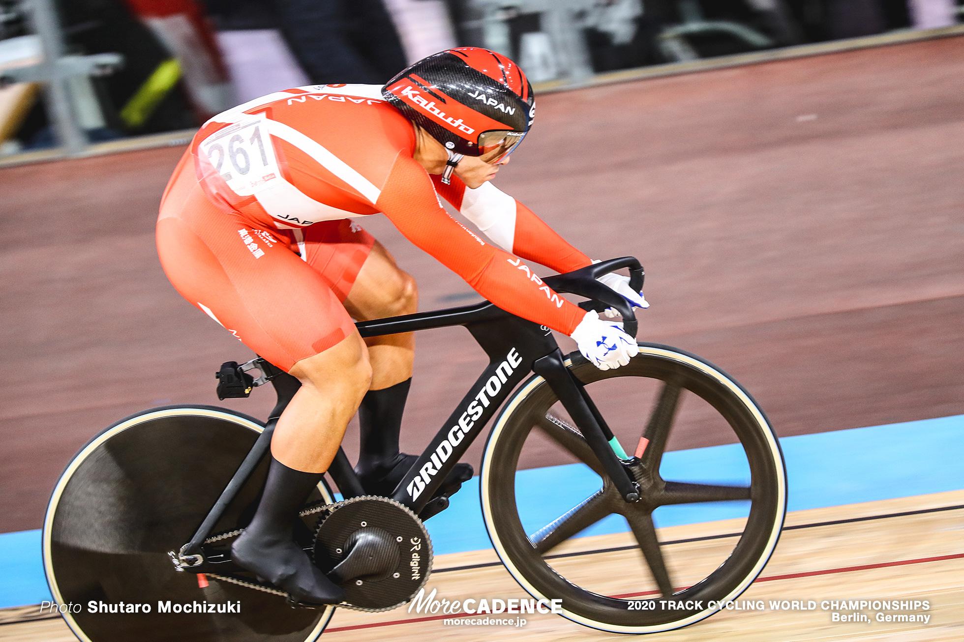 1/4 Finals / Men's Sprint / 2020 Track Cycling World Championships, Nitta Yudai 新田祐大