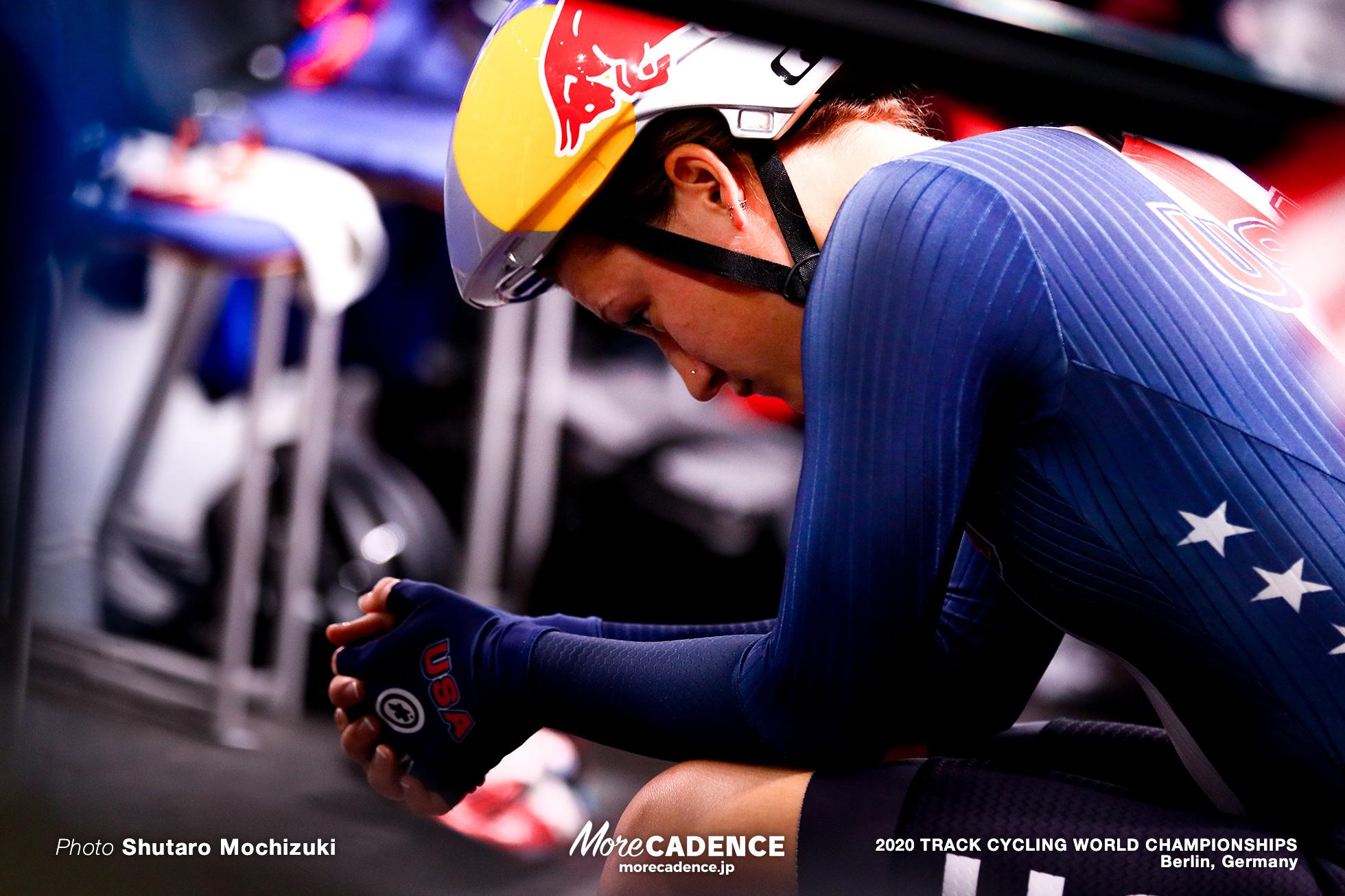 2020 Track Cycling World Championships, Chloe Dygert クロエ・ダイガート