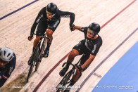 Men's Madison / 2020 Track Cycling World Championships, Campbell Stewart キャンベル・スチュワート, Aaron Gate アーロン・ゲイト