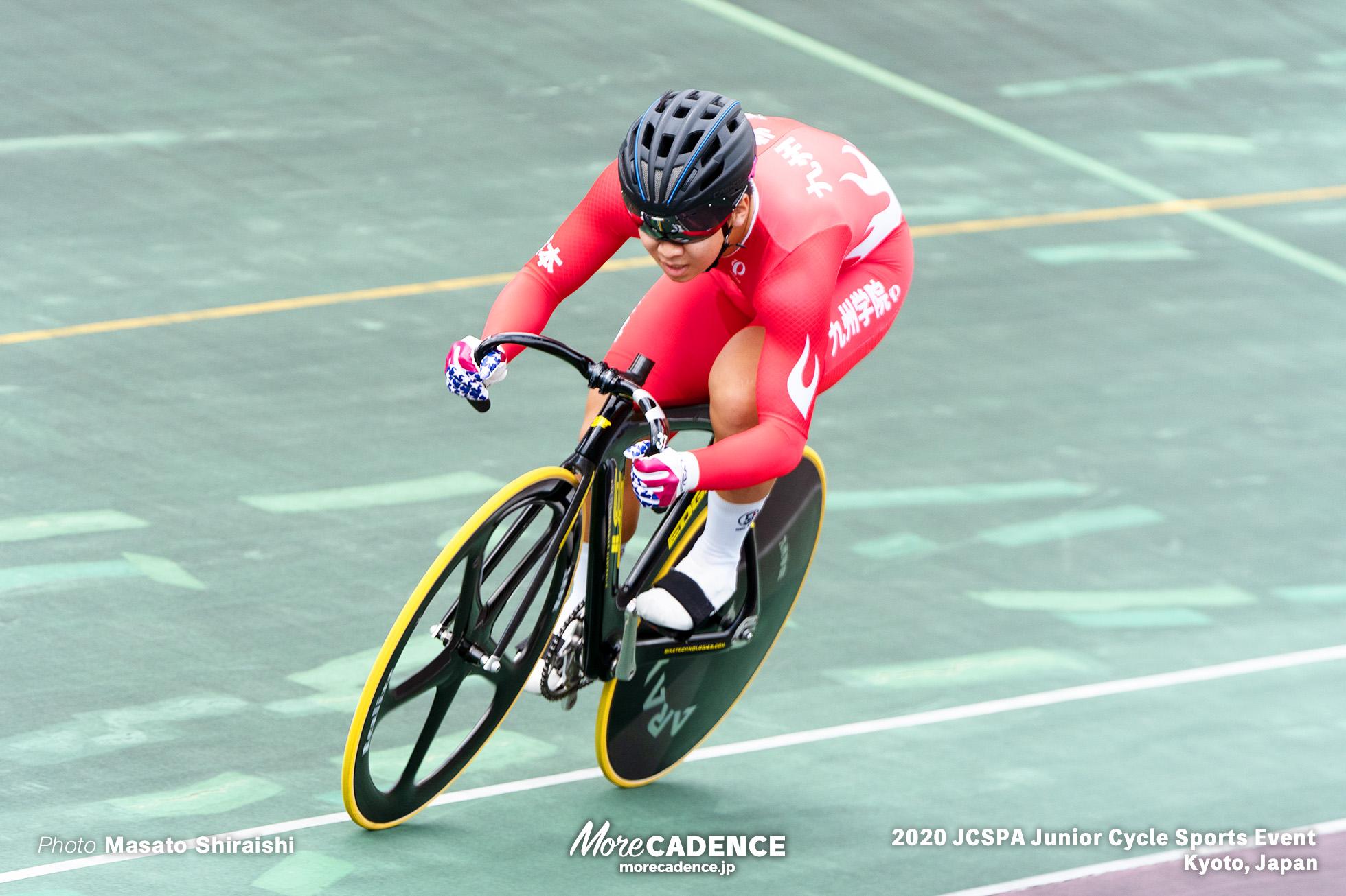 中山遼太郎 九州学院 スプリント予選 ジュニアサイクルスポーツ大会