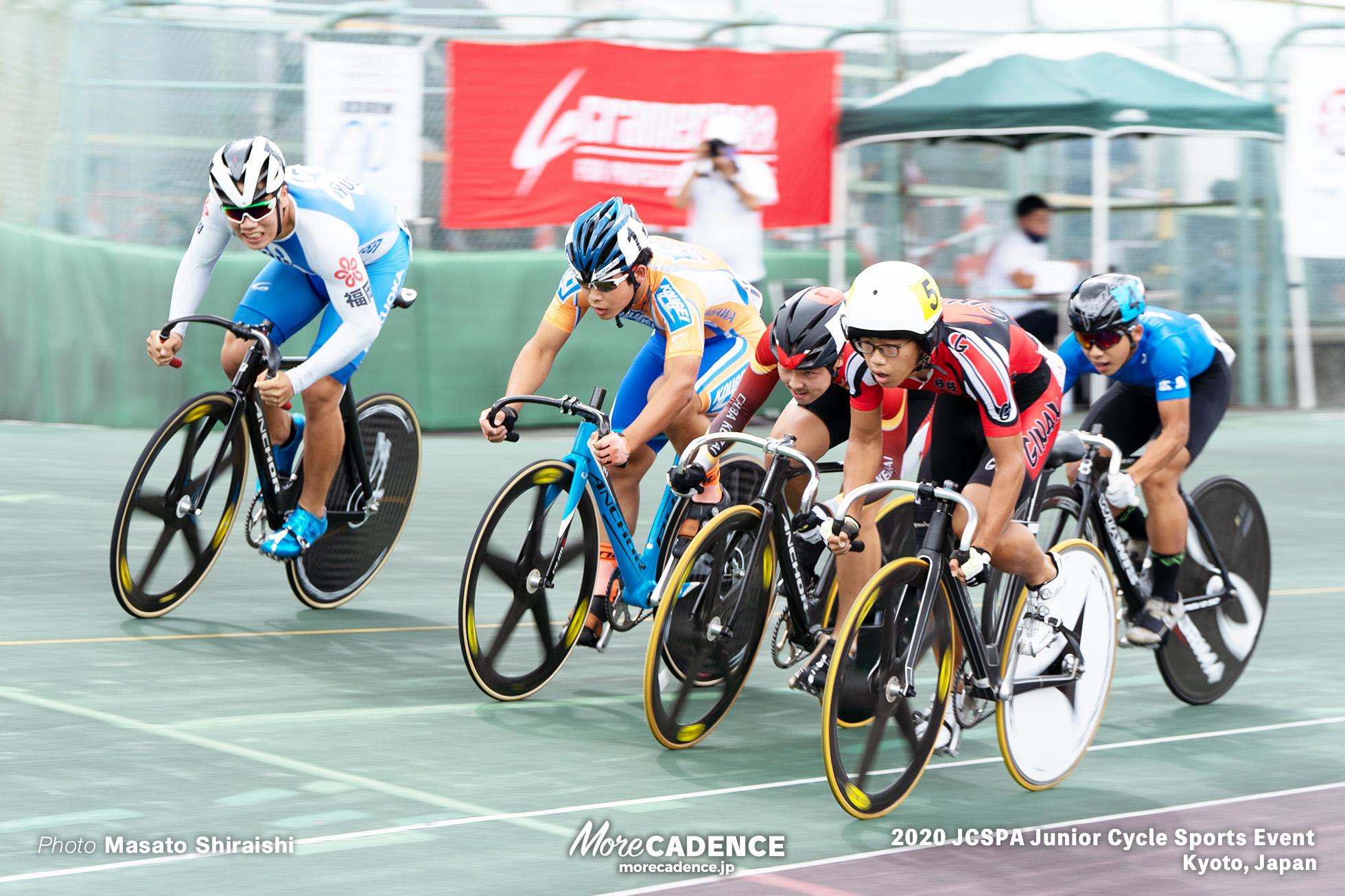 ケイリン 1回戦 ジュニアサイクルスポーツ大会