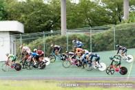 ポイント1組目 予選 ジュニアサイクルスポーツ大会
