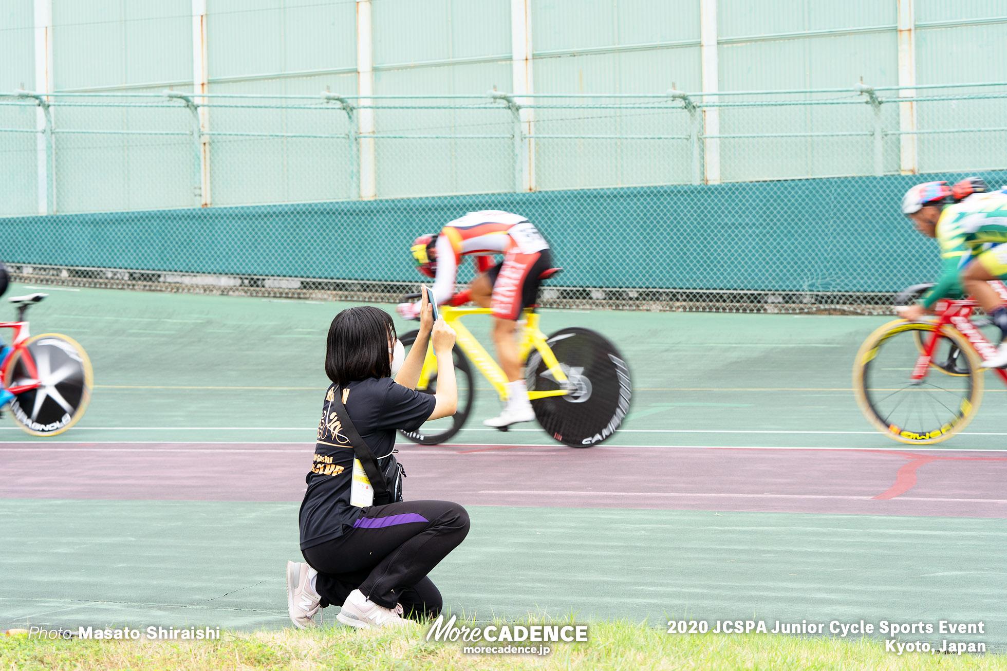 ジュニアサイクルスポーツ大会 ポイントレース